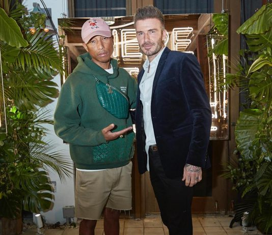 David Beckham Instagram: Incredible night with  and  celebrating  and next British generation fashion tal...