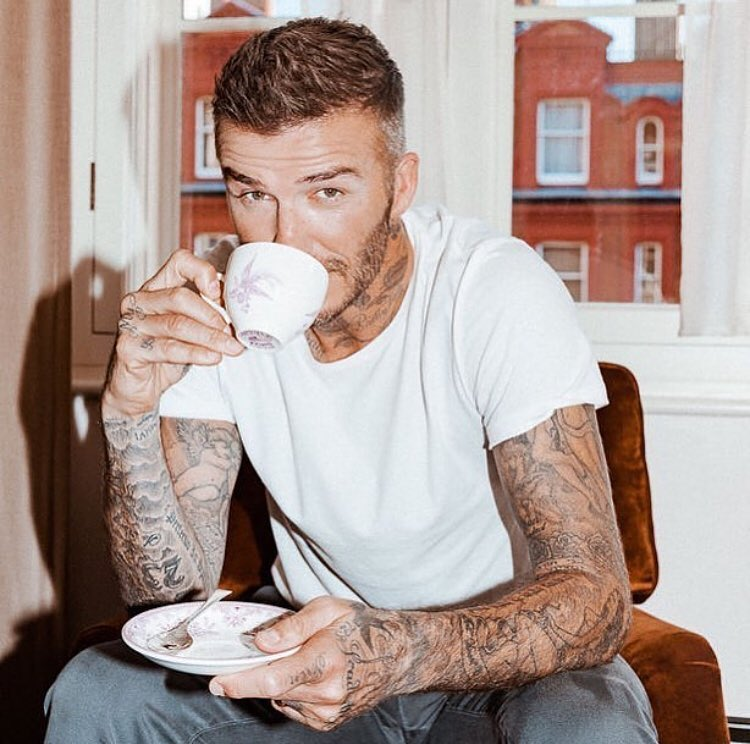 David Beckham Instagram: Talking all things grooming with  and   ...