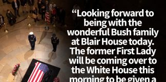 Donald J. Trump Instagram: Looking forward to being with the wonderful Bush family at Blair House today. Th...