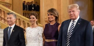Donald J. Trump Instagram: President Donald J. Trump and First Lady Melania Trump are greeted by Argentine ...