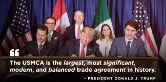Donald J. Trump Instagram: The historic USMCA is a truly groundbreaking achievement. All of our countries w...