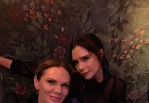 Victoria Beckham Instagram: Kisses to a very special person.I love u so much   xxx fun night out!   x...
