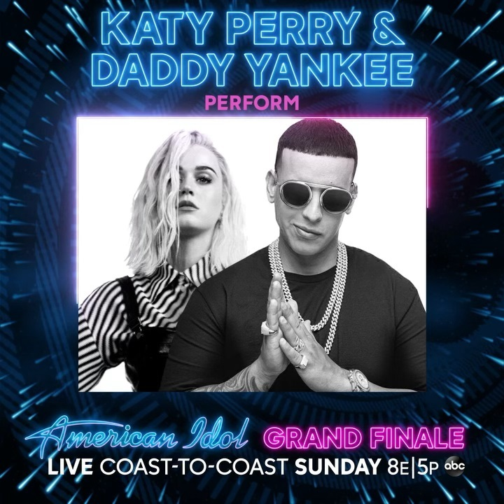 Katy Perry Instagram: Not like you needed ANOTHER excuse to watch the  GRAND FINALE on Sunday...but he...