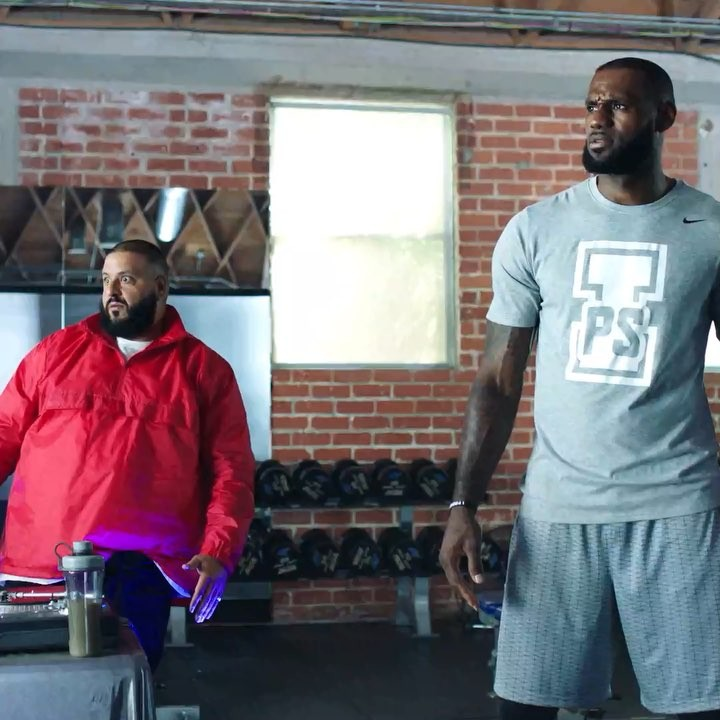LeBron James Instagram:   had  and I like!  At least we can agree on  for after our workout ...