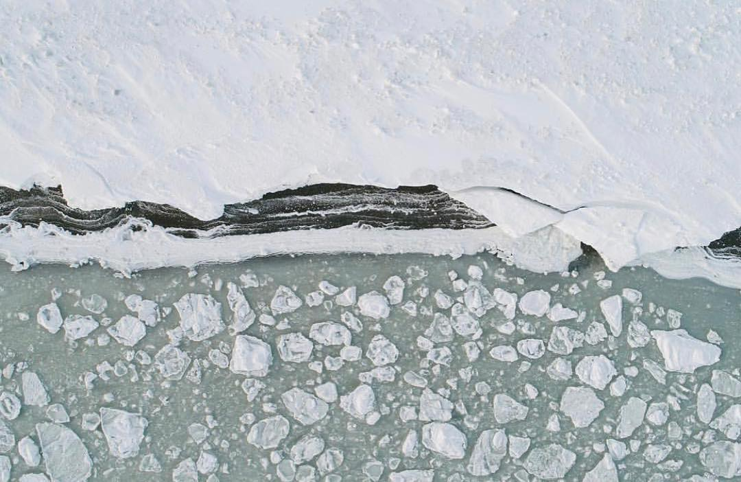 Leonardo DiCaprio Instagram:    Historically, the shoreline of Saint Lawrence Island is sheathed in sea ice t...