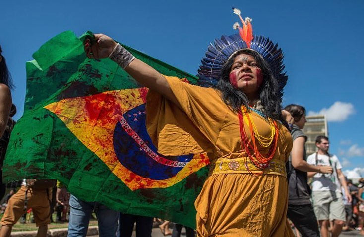 Leonardo DiCaprio Instagram:    This week, thousands of Indigenous People gathered in Brasília, the capital o...