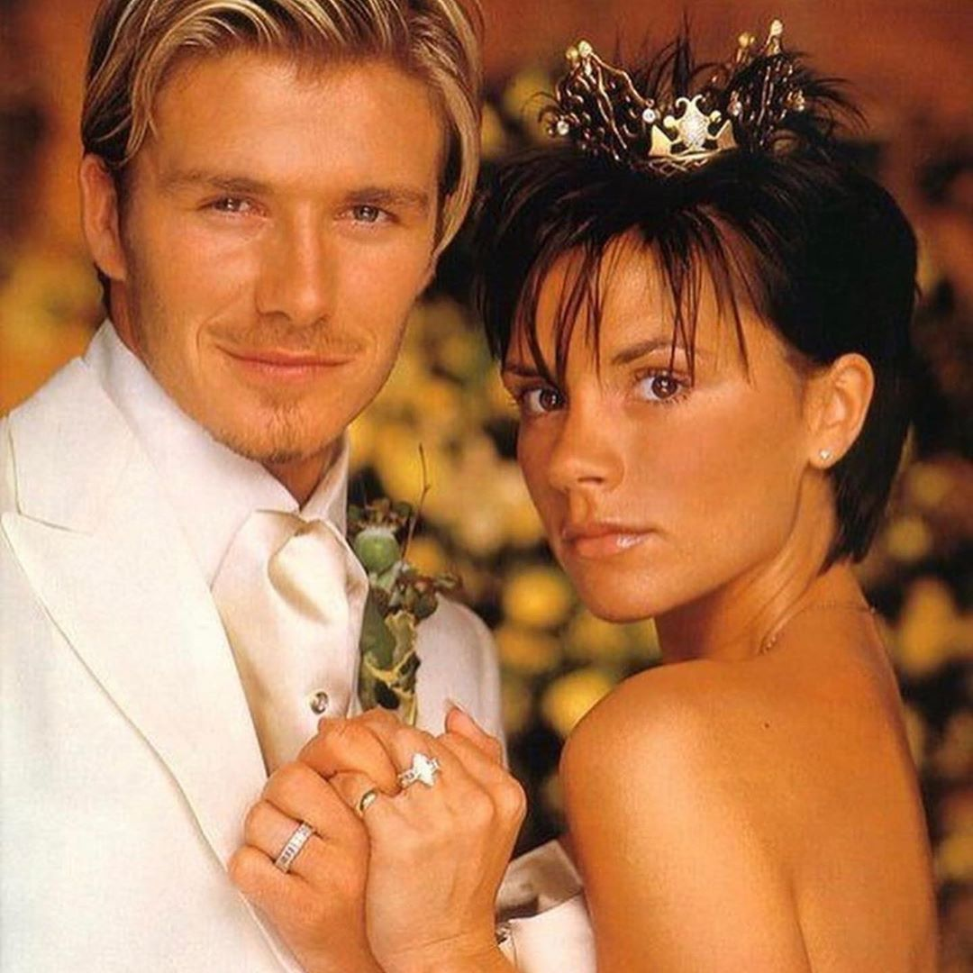 David Beckham Instagram: WOW 20 years , look what we created  Love you so much       ...