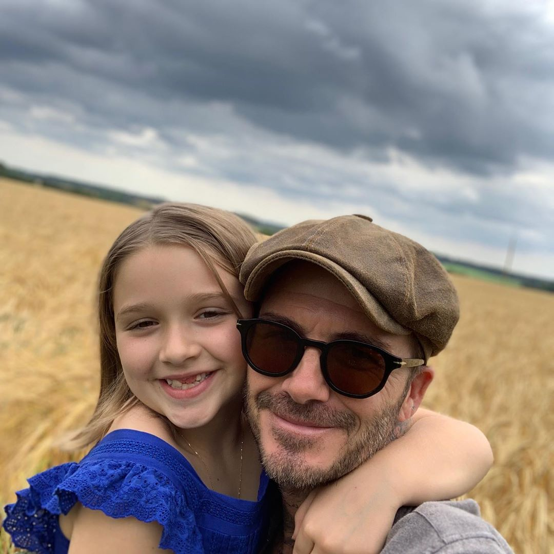 David Beckham Instagram: What more can daddy say other than I love you so much little girl and please sto...