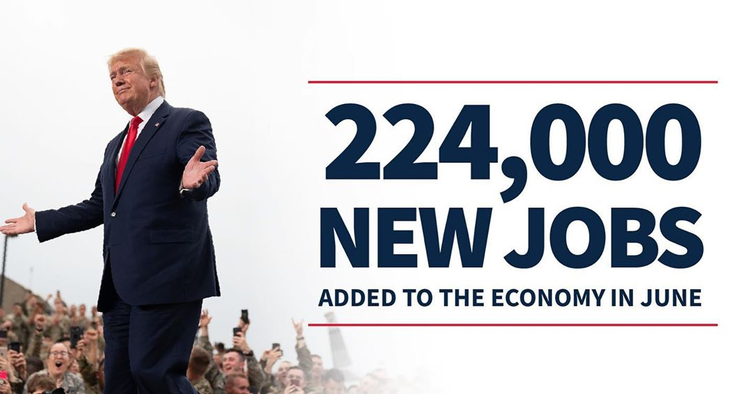 Donald J. Trump Instagram: JOBS, JOBS, JOBS!...