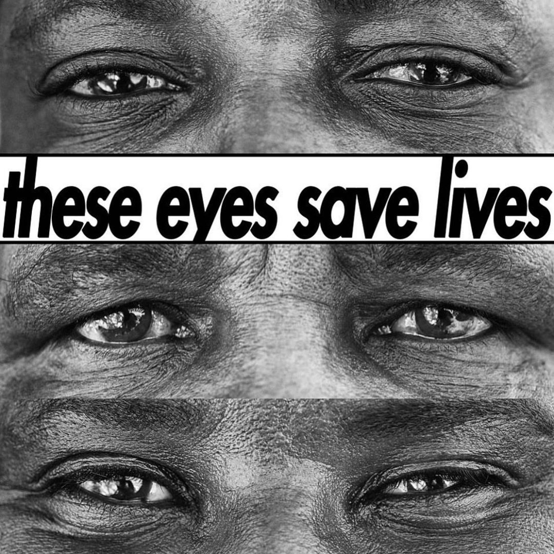 Leonardo DiCaprio Instagram: THESE EYES. They belong to Save the Rhino Trust Namibia trackers and Rhino Range...