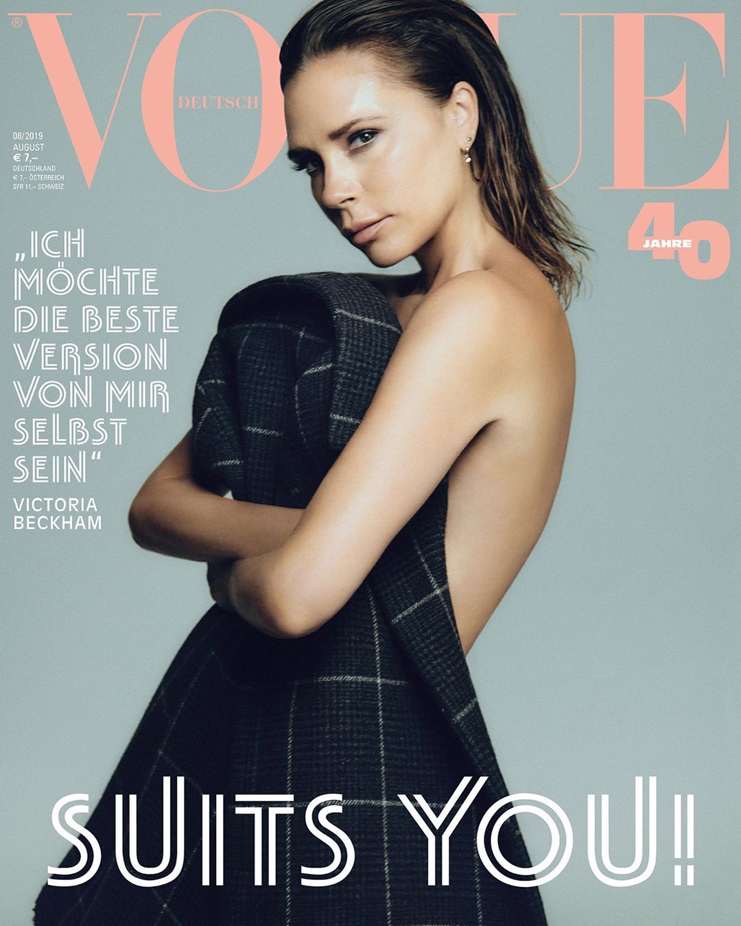 Victoria Beckham Instagram: Thank u for featuring me on the cover of