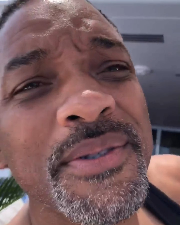 Will Smith Instagram: I'm too Gangsta for this vacation....