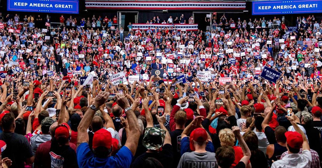 Donald J. Trump Instagram: Thank you New Hampshire. KEEP AMERICA GREAT! ...