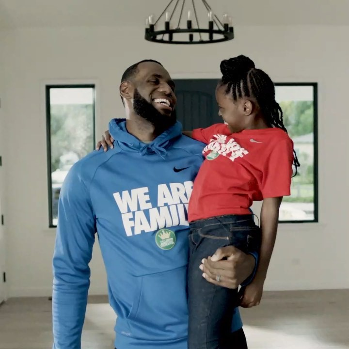 LeBron James Instagram: Honored and thankful for  to allow for LaRiyah and her family to have this incre...