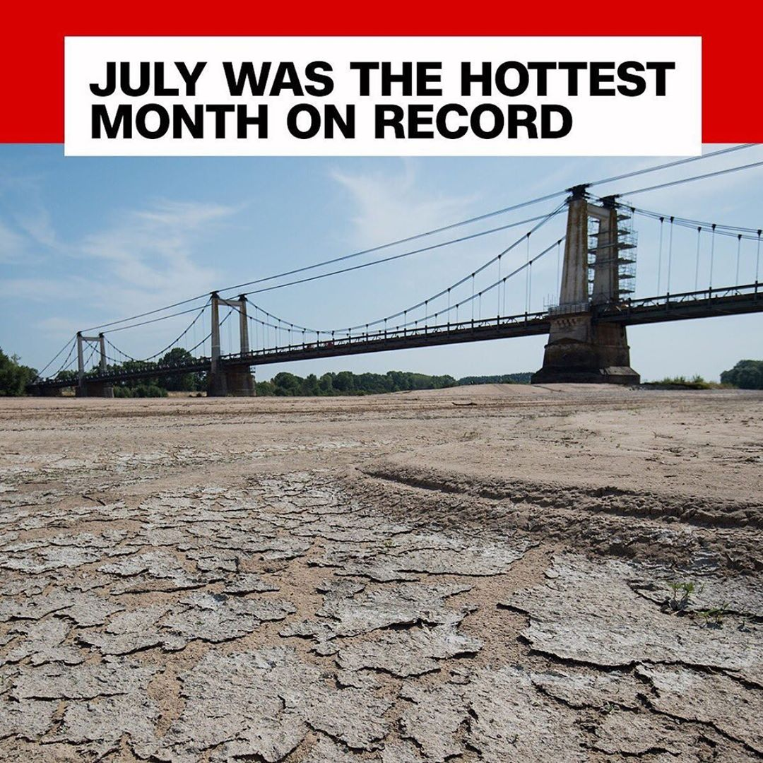 Leonardo DiCaprio Instagram:    Earth faced unprecedented heat in July, its hottest month on record, accordin...
