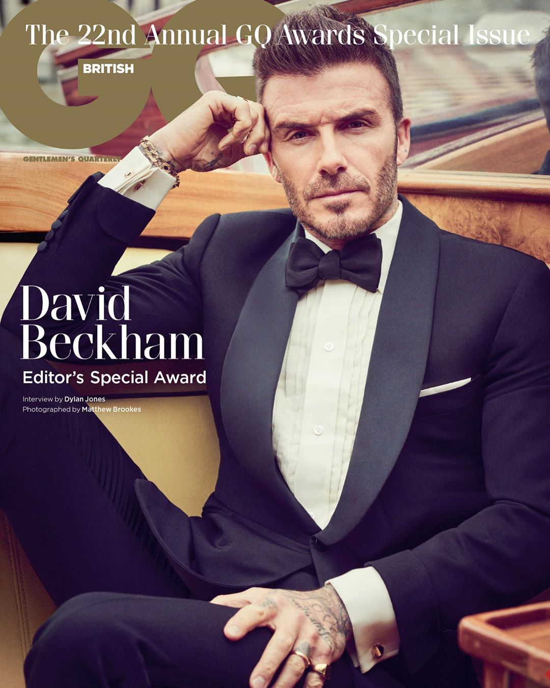 David Beckham Instagram: Can't believe its 20 years to the day since my first  cover. What a journey! Its...