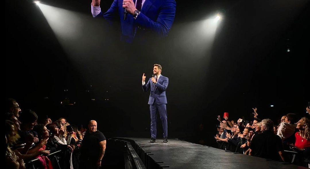 "Michael Bublé Instagram: Feeling at ""home"" for the second night in Milan. ..."