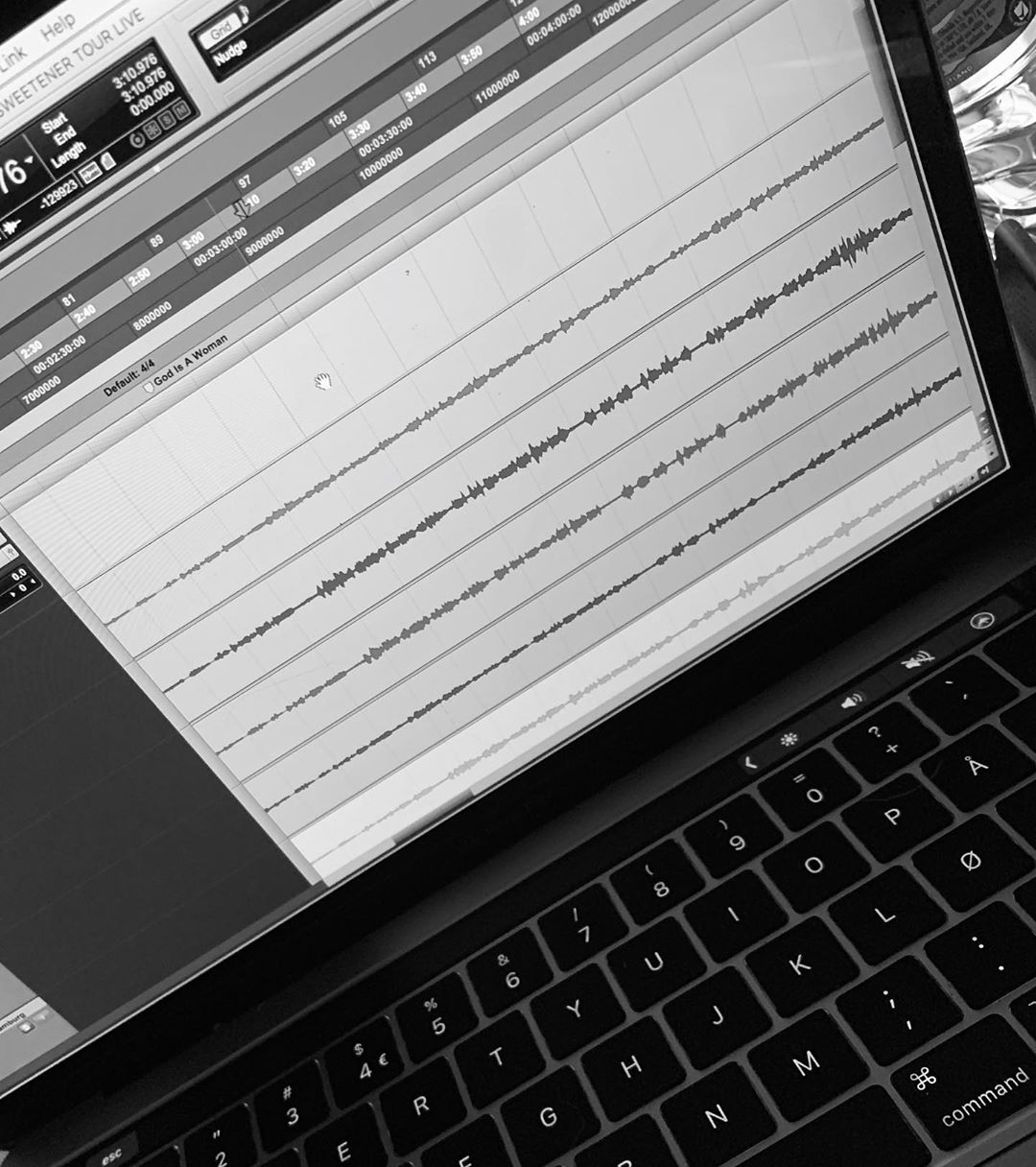 Ariana Grande Instagram: so .... i got a bunch of my live vocals from tour on my laptop thanks to  and t...