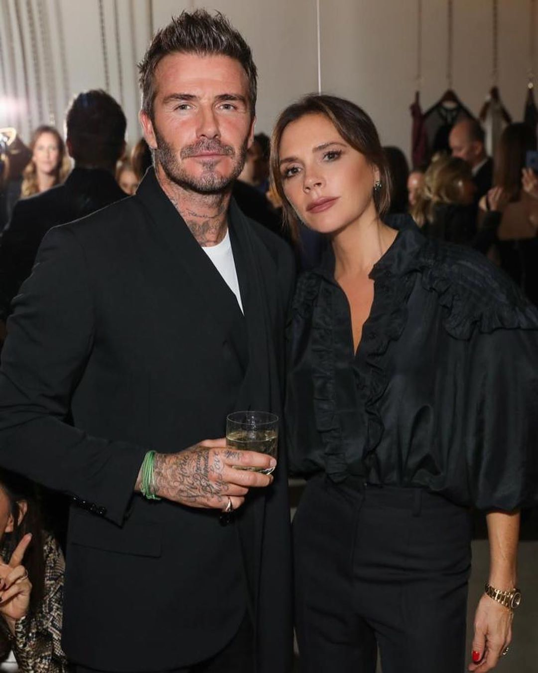 David Beckham Instagram: An incredible night celebrating the great Andy Warhol with  and friends at      ...