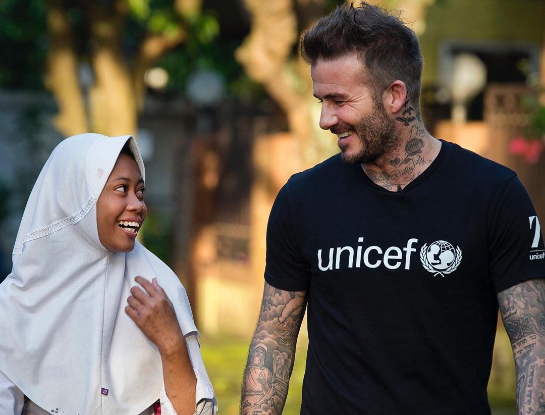 David Beckham Instagram: Today we celebrate the achievements of girls across the world for International ...