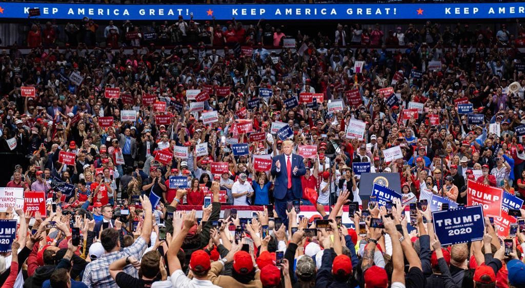Donald J. Trump Instagram: The radical left tolerates no dissent, it permits no opposition, it accepts no ...