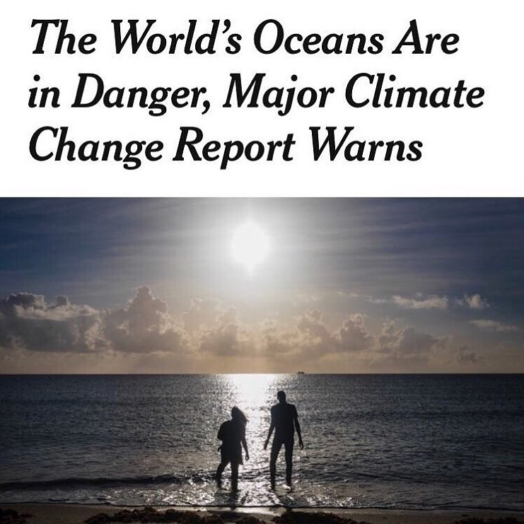 Leonardo DiCaprio Instagram:    Earth's oceans are under severe strain from climate change, a major new U.N. ...