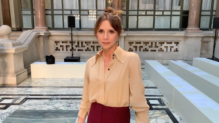Victoria Beckham Instagram: The time I asked  a question.. Discover more at  link in bio. X VB...