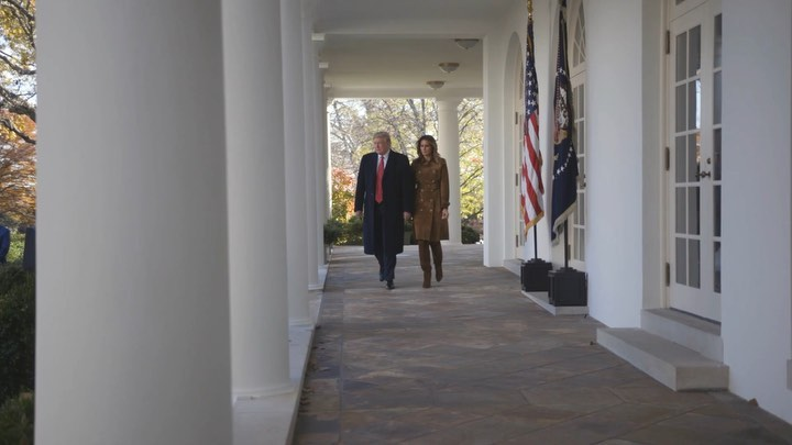Donald J. Trump Instagram: 30 years after the first presidential turkey pardon, President Trump and  Melani...