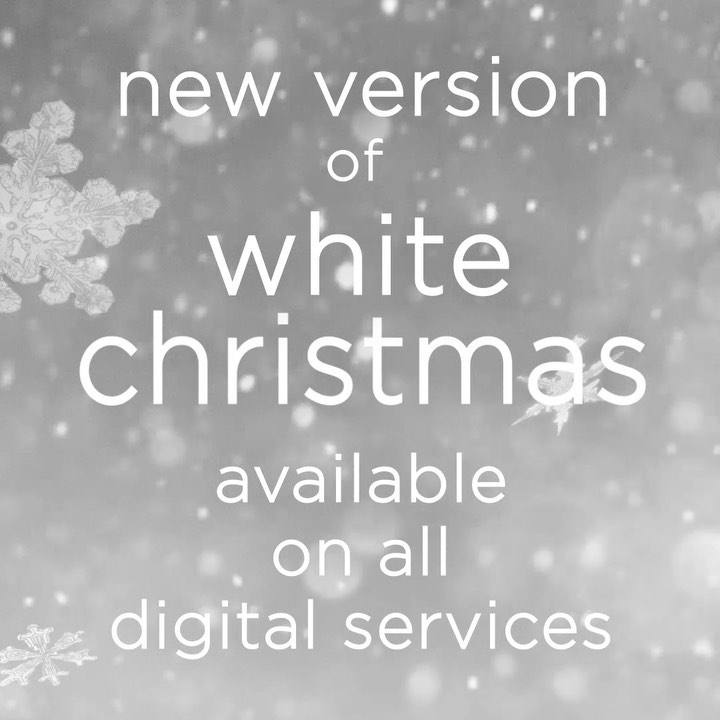 """Michael Bublé Instagram: A new version of """"White Christmas""""⠀ Now on all digital services⠀ Christmas isn't..."""