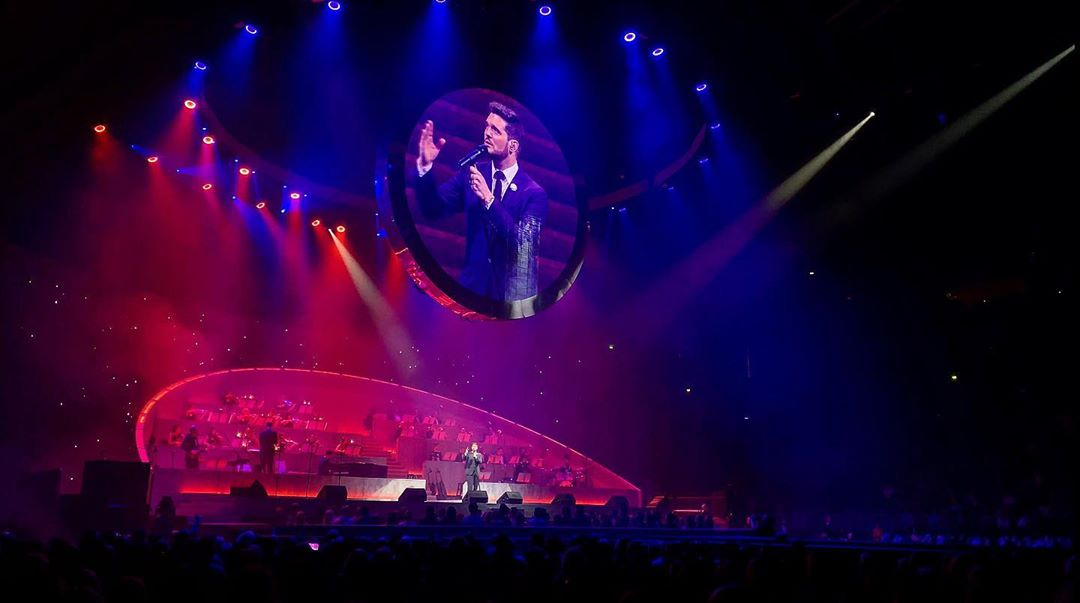 Michael Bublé Instagram: A wonderful audience in Cologne. ...