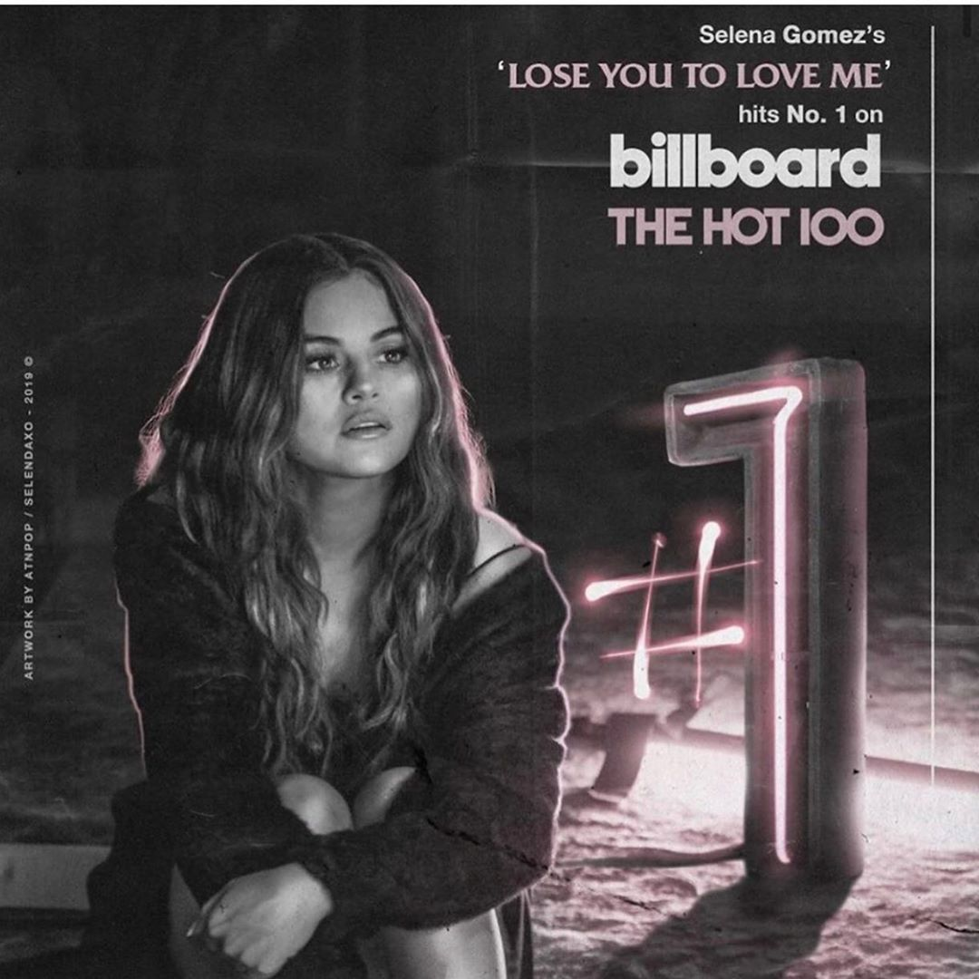 Selena Gomez Instagram: My first number 1!! This song is so dear to my heart. I've been working so hard ...