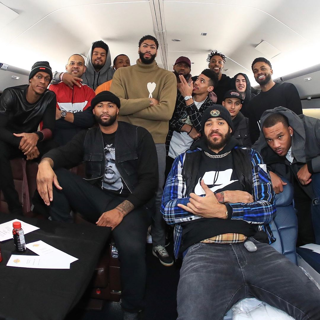 LeBron James Instagram: Man I miss the gang!! CAN NOT WAIT to get back to them and hit the floor with th...