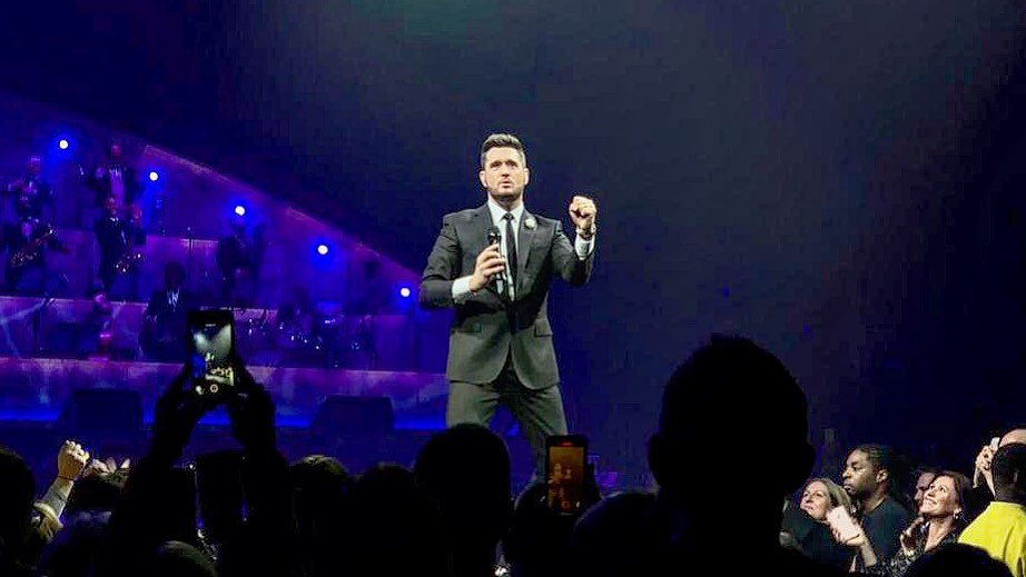 Michael Bublé Instagram: 21 career shows (so far) at the  and the  continues to burst through the roof. ...
