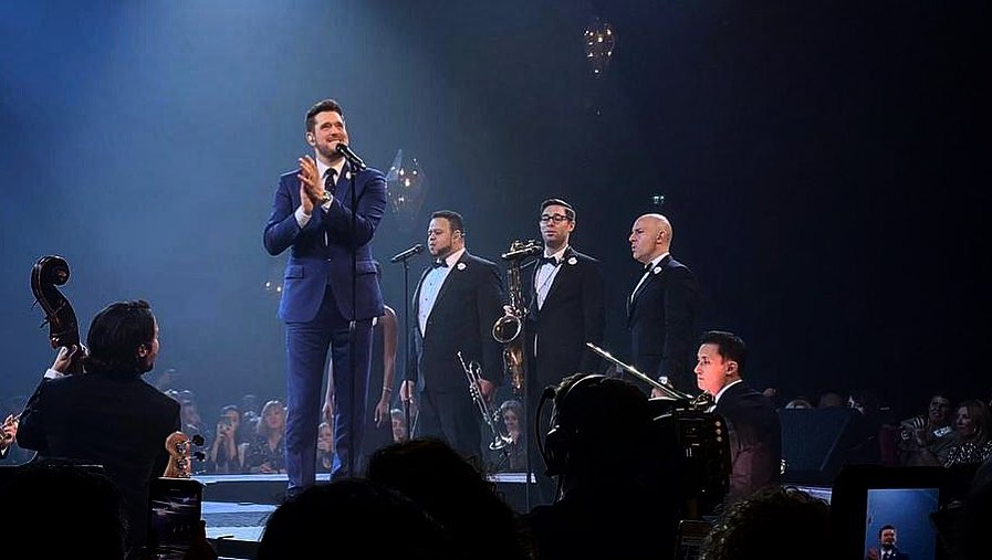 Michael Bublé Instagram: Another memorable night in Nottingham   ...