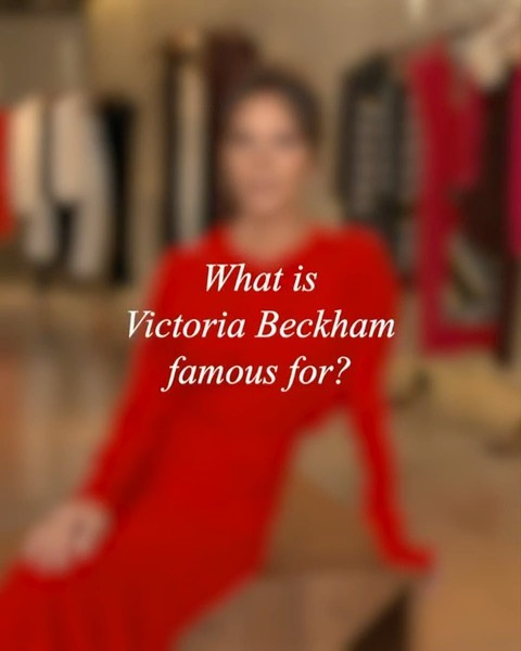 Victoria Beckham Instagram: Answering some of your most Googled questions. Watch the full video on  and foll...
