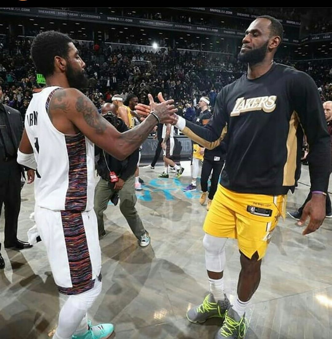 LeBron James Instagram:  Brothers! 3 years of eternal moments, memories. Young God x  was Epic! ...