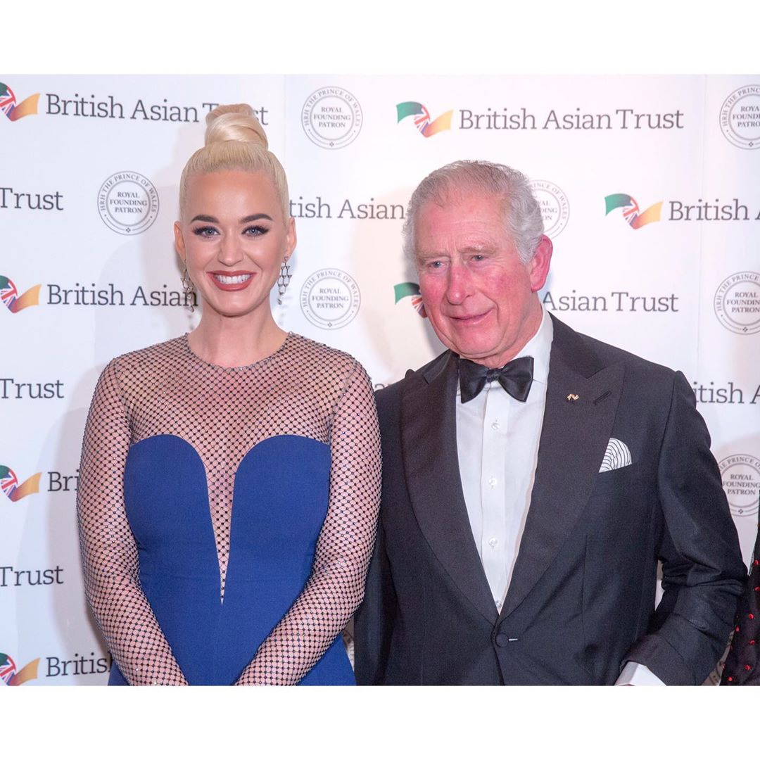 Katy Perry Instagram: So pleased to be appointed by HRH The Prince of Wales  as ambassador for  Childr...