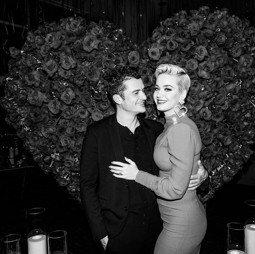 Katy Perry Instagram: one year ago I said yes to a life of love and evolution... and definitely never ...