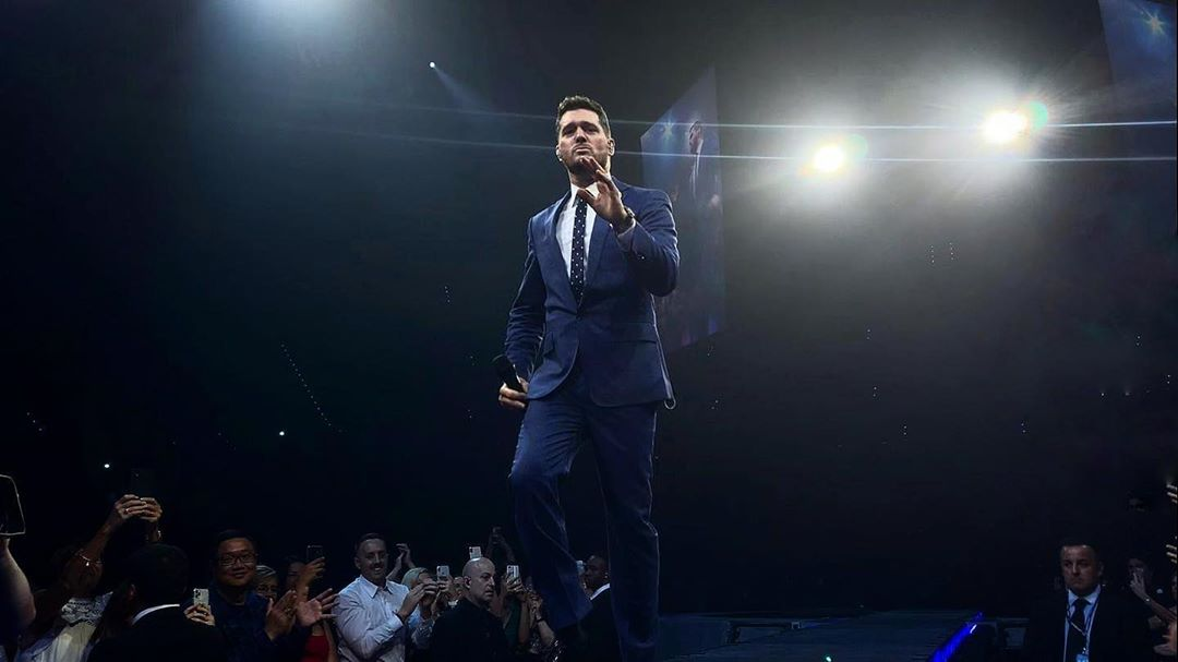 Michael Bublé Instagram: Perth was 'Everything' tonight! ...