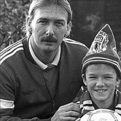 David Beckham Instagram: Happy Father's Day dad x love you  thank you for giving me the drive and work et...