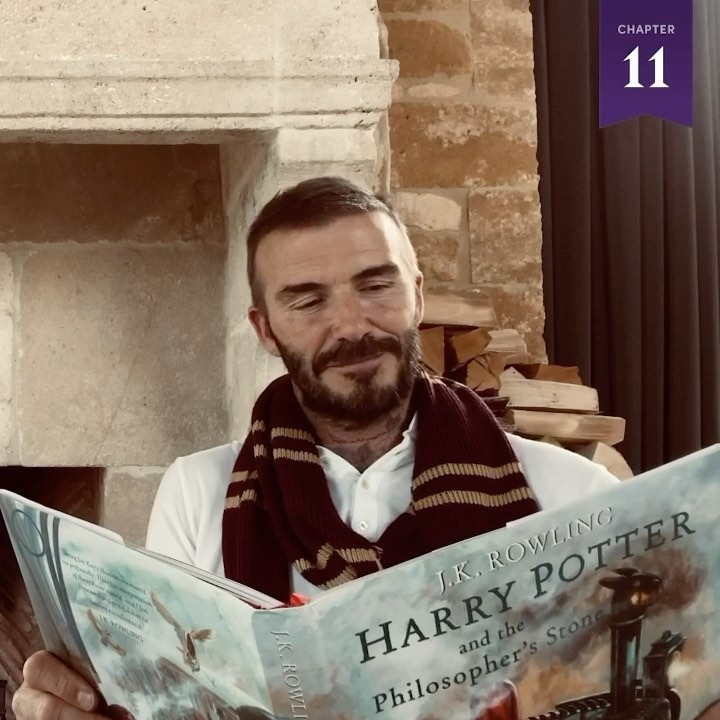 David Beckham Instagram: So excited to be part of this great project to bring the magic of Harry Potter t...