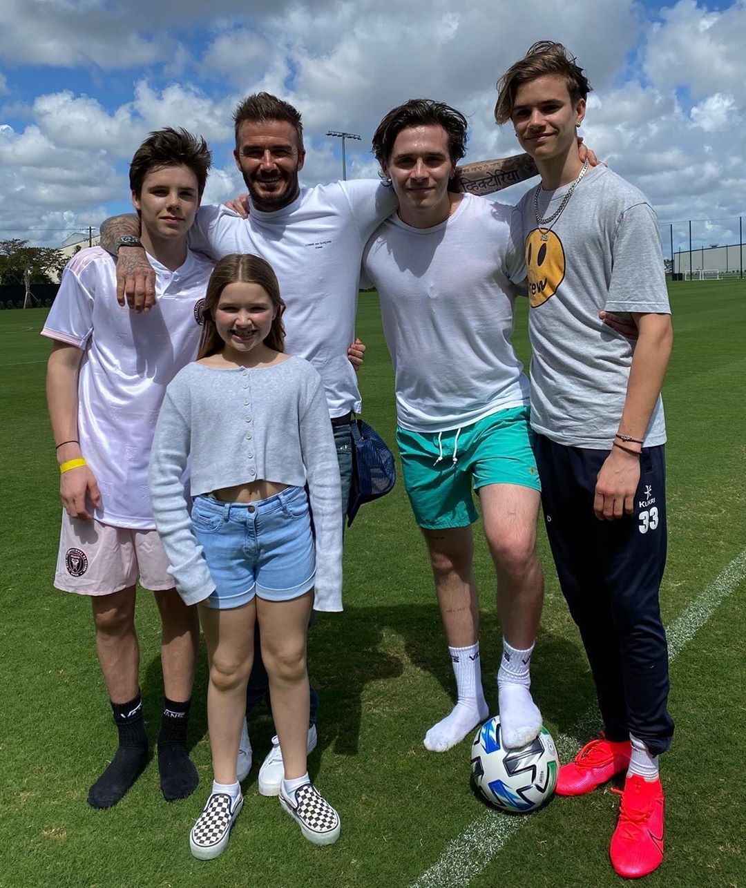 David Beckham Instagram: Today is Global Day of Parents. As a father of four I know that being a parent m...