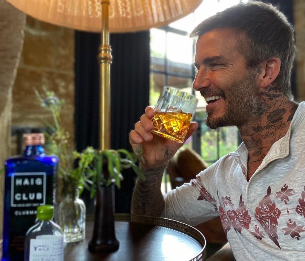 David Beckham Instagram: Loving the new  x  cocktails ...